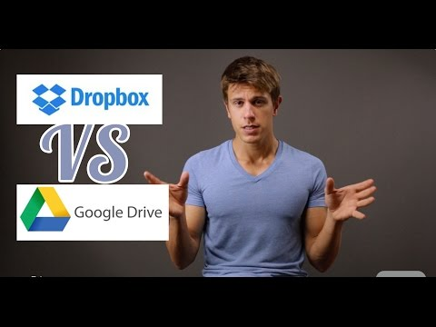 Dropbox vs Google Drive 2015 Edition