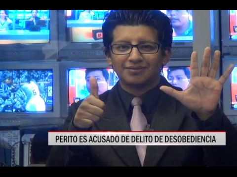 31/10/2014 - 13:24 PERITO ES ACUSADO DE DELITO DE DESOBEDIENCIA