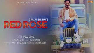 Red Rose (Audio Poster) Ballu Sidhu | White Hill Music | Releasing on 15th November