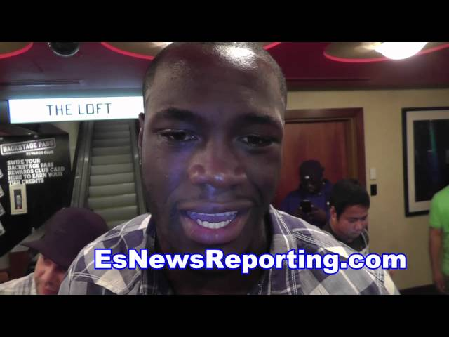 deontay wilder on bermane stiverne fight EsNews boxing