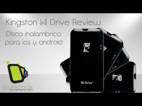 Kingston Wi Drive. Aumenta la capacidad de tus dispositivos de apple y android