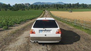 Forza Horizon 4  - 350HP VOLKSWAGEN GOLF GTI 16V MK2 - Test Drive - 1080p60FPS