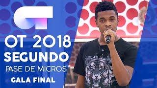 """""""FAITH"""" - FAMOUS   SEGUNDO PASE DE MICROS GALA FINAL   OT 2018"""