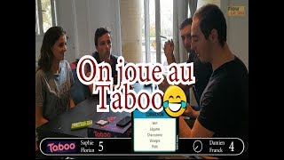 Faire deviner le mot Cornichon ... avec Le Taboo Jeu de Société - Flow Le Jeu !