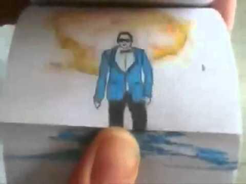 Oppa Gangnam Style In Paper! video