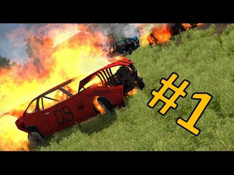 The most BRUTAL Demolition Derby ever!!!! (Beamng.Drive) #1