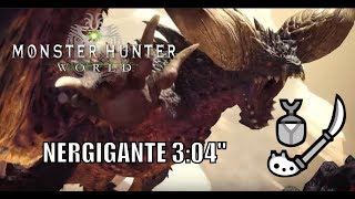 "Monster Hunter World - Nergigante - 3:04"" - Insect Glaive"