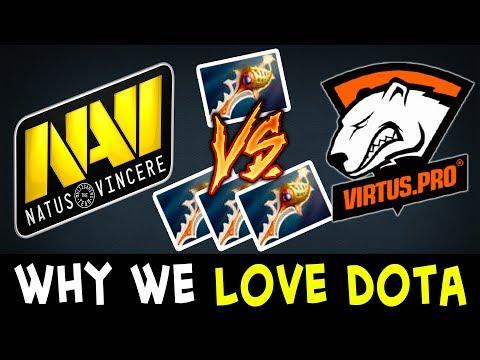 Rapier vs 3 Rapiers, NaVi vs VP — WHY WE LOVE DOTA