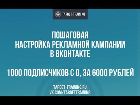 Как настроить рекламу в ВКонтакте | Пошаговая настройка таргетинга