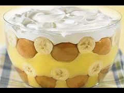 Jello Banana Pudding Vegan Banana Pudding Recipe
