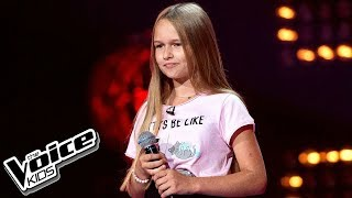 """Hanna Lasota - """"Perfect Strangers"""" - Przesłuchania w ciemno - The Voice Kids 2 Poland"""