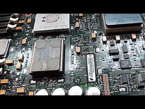 IBM Power4+ Mainframe CPU Teardown
