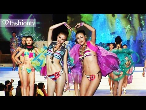Model Contest - New Silk Road Finals 2011, Sanya | Fashiontv - Ftv Asia video