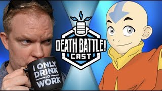 Aang VS Edward Sneak Peak | DEATH BATTLE CAST #136
