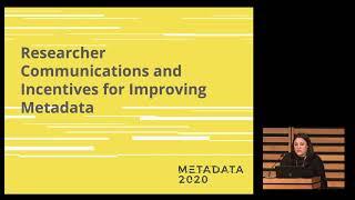 Ginny Hendricks, Crossref; Clare Dean, Metadata2020; Ravit David - This talk is sooo meta