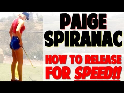 Paige Spiranac Swing Review | Use the Lead Leg For