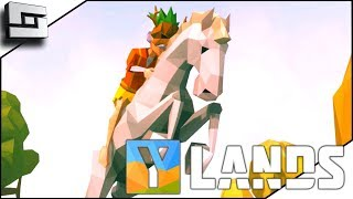 TAMING A HORSE! Ylands Gameplay E3
