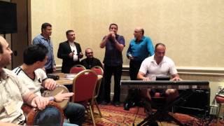 Mawal and Dabke Song.  Sing along NAM 2014.  Tony Mikhael and Fr Charbel