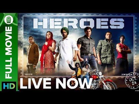 Heroes | Full Movie LIVE On Eros Now | Salman Khan, Sunny Deol, Preity Zinta, Sohail Khan & Vatsal