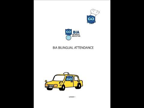 Bia Bilingual Training Restaurants and hotels