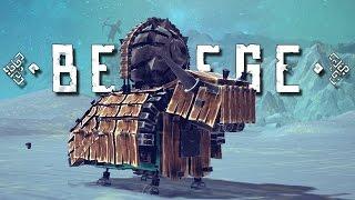 Best Besiege Creations! - VTOL Fighter Jet, Bionic Yak, and More!! - Besiege Gameplay