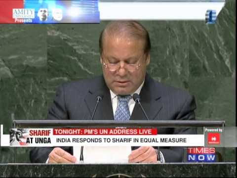 India's stern reply to Nawaz Sharif