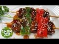 How to Make Yakitori   Beef & Chicken BBQ   YumYumCook