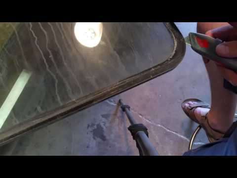94 Bounder,  Easy double pane fog window part 2 - RV REPAIR