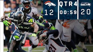 Broncos vs. Seahawks: Manning with The Ball, 59 Seconds Left, Down 8