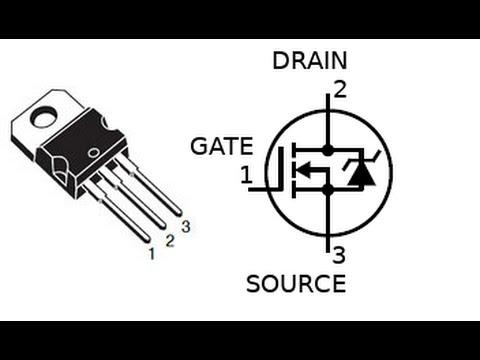 Видео как проверить MOSFET полевой транзистор мультиметром