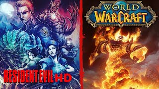 Resident Evil HD - Speedrun Skip Door + World of Warcraft classic - Reino Smolderweb - En Español
