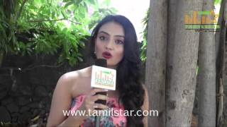 Nikkitha Narayan At Mella Thiranthathu Manasu Audio Launch