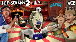 ICE SCREAM 2 - THE CIRCUS FREAK! (FGTeeV Escapes ROD Again!)