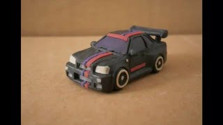 Nissan Skyline GTR R34 Как слепить из пластилина | Tutorial how to sculpt Nissan from clay