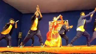 Ebar Jeno Onno Rokom Pujo||dance video ashwin kumar