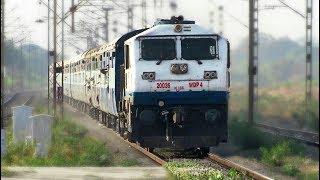Aggressive EMD | High Speed VIVEK EXPRESS - Indian Railways !!