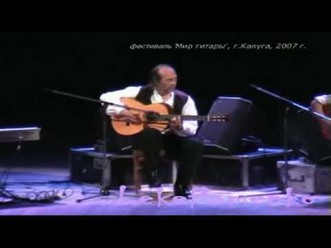 Concierto Paco de Lucia Kaluga con Montse Cortes y Chonchi Heredia 2007 1º