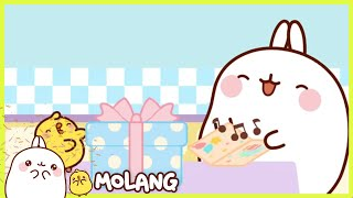 Molang - The present | Full Molang episodes - Cartoon for kids