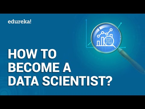 How to Become a Data Scientist | Data Scientist Skills | Data Science Training | Edureka
