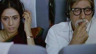English Vinglish - Amitabh Bachchan's courteous behaviour with Sridevi - English Vinglish