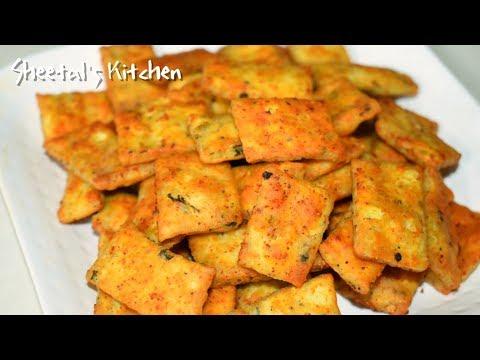 दिवाली पे बनाये मार्किट जैसे स्पाइसी मसालापारे- कुरकुरित तिखट शंकरपाली-Spicy NamkinNimki recipe
