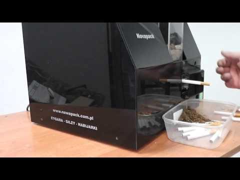 Maszyny do papierosów. wydajność 30szt/min. Novapack