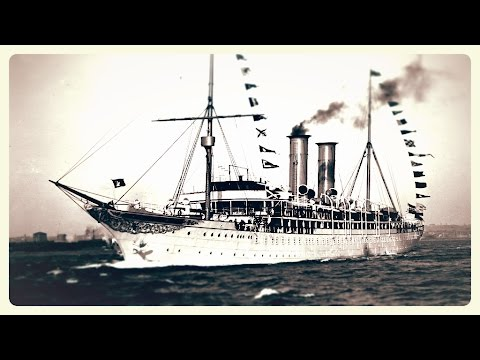 SS PRINZESSIN VICTORIA LUISE: First Cruise Ship (1901)