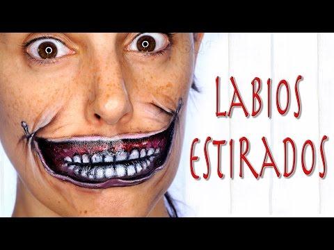 Tutorial maquillaje labios estirados efectos especiales   Silvia Quiros