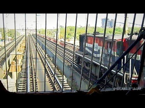 WAG9 LOCOMOTIVE RIDE ! STRONGEST LOCO OF INDIAN RAILWAYS