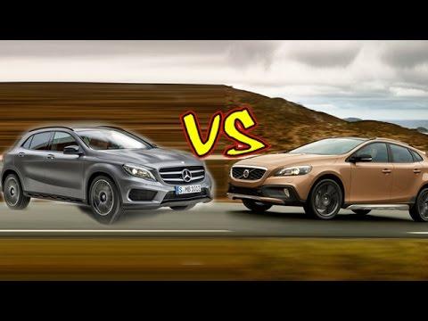 Mercedes-Benz GLA vs BMW X1 vs Audi Q3 vs Volvo V40 Cross Country | Specifications Comparison