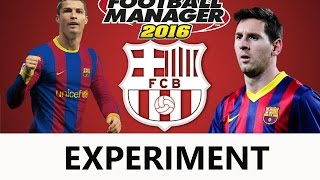 Cristiano Ronaldo in FC Barcelona | Football Manager 2016 | Experiment