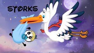 Storks ~ Pencil Cartoons #71