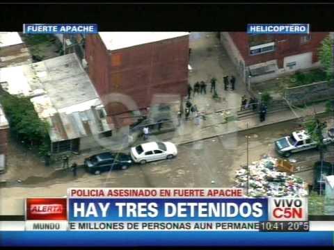 C5N - POLICIALES: POLICIA ASESINADO EN FUERTE APACHE