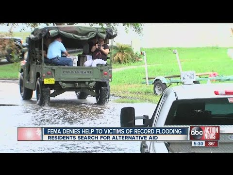 FEMA aid denied for Tampa Bay area